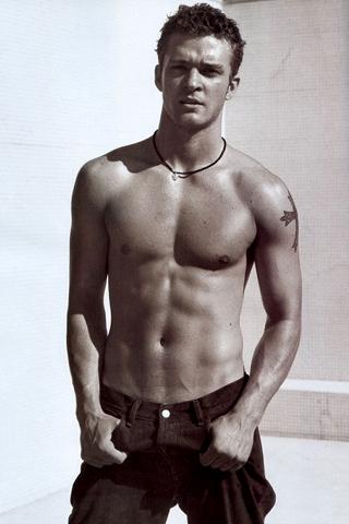 friends Justin with benefits timberlake shirtless